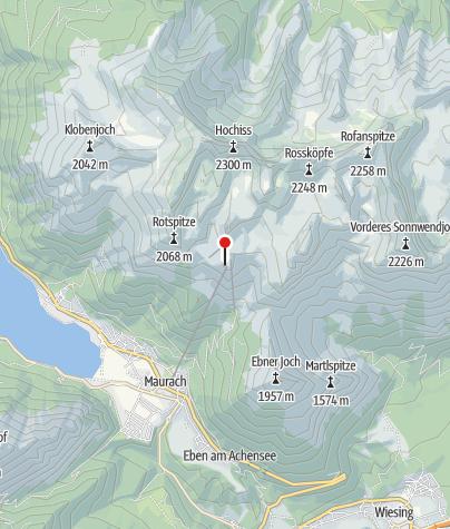 Karte / Erfurter Hütte