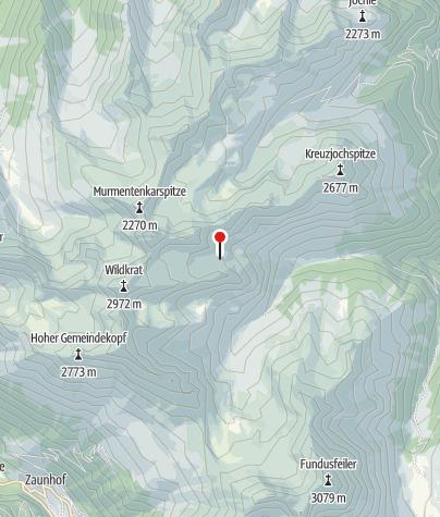 Karte / Erlanger Hütte