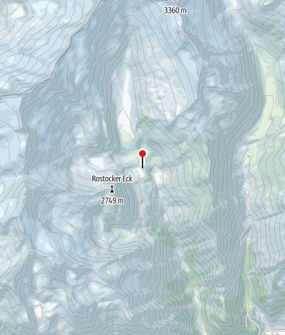 Karte / Essener und Rostocker Hütte