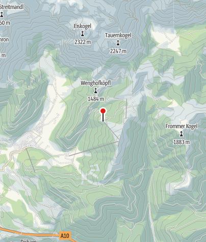 Karte / Freilassinger Hütte