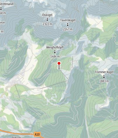 Map / Freilassinger Hütte