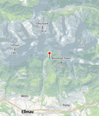 Karte / Gaudeamushütte