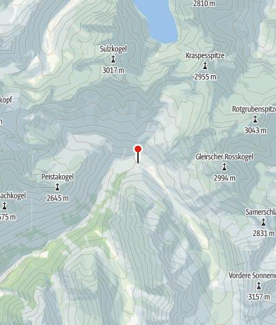 Karte / Schweinfurter Hütte