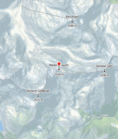 Karte / Hagener Hütte