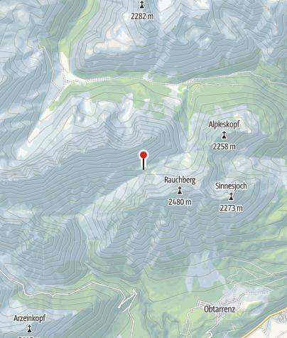 Karte / Heiterwandhütte