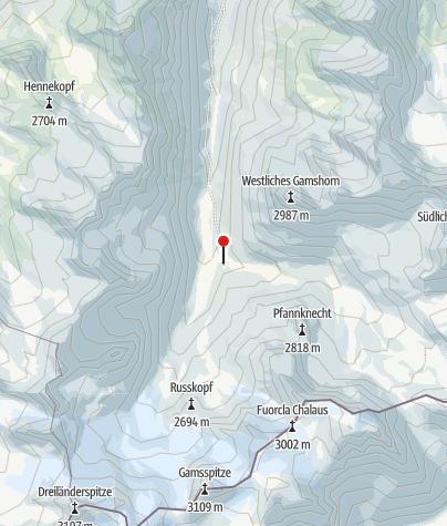 Karte / Jamtalhütte