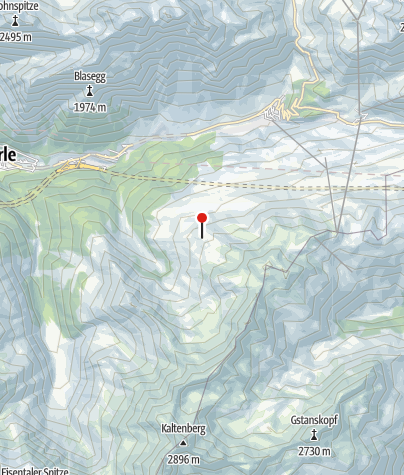 Karte / Kaltenberghütte