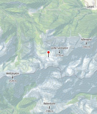 Karte / Karlsbader Hütte