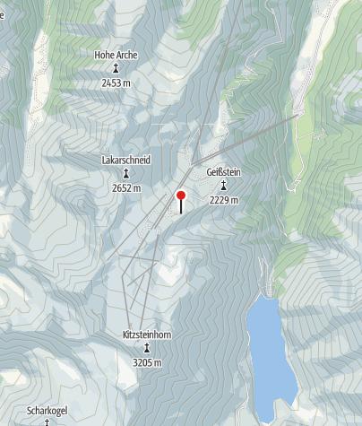 Karte / Krefelder Hütte