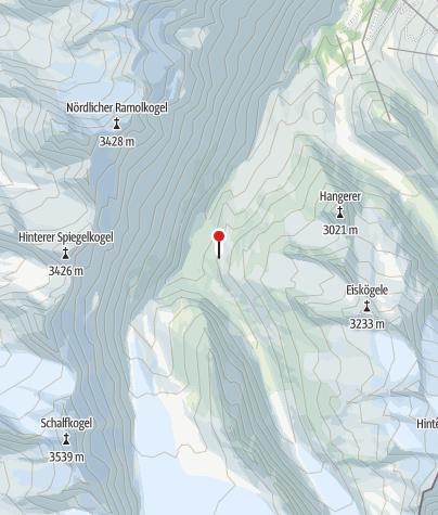 Karte / Langtalereckhütte