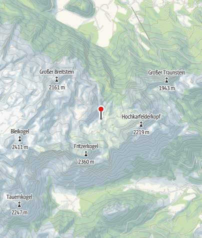 Karte / Laufener Hütte