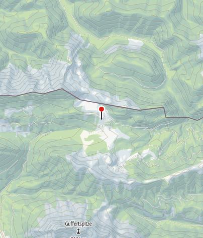 Karte / Gufferthütte