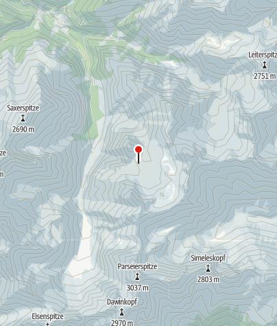 Map / Memminger Hütte