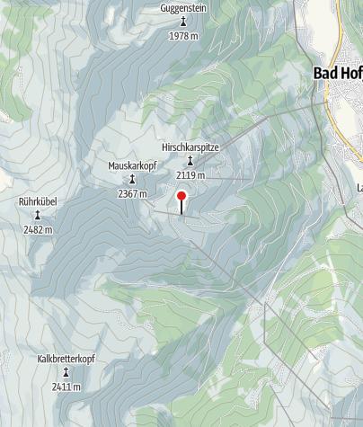 Map / Hamburger Skihütte