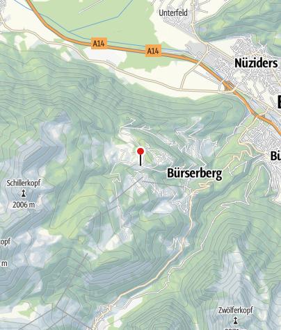 Karte / Schwabenhaus