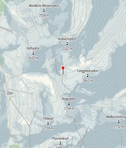 Map / Stuttgarter Hütte