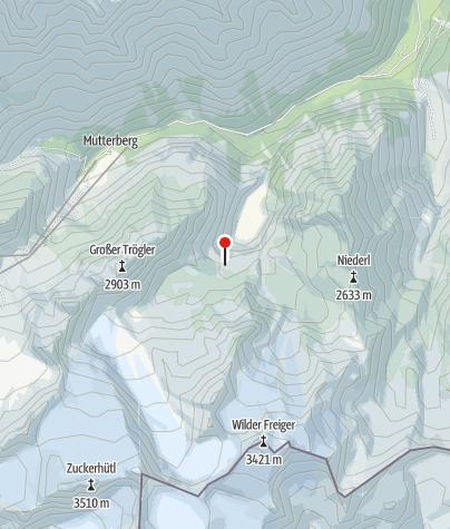 Map / Sulzenauhütte