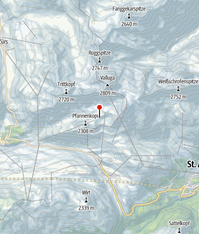 Map / Ulmer Hütte