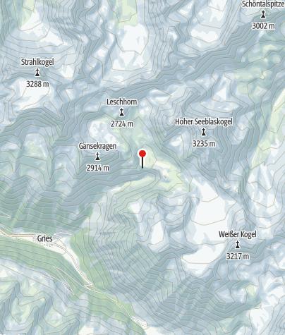 Karte / Winnebachseehütte