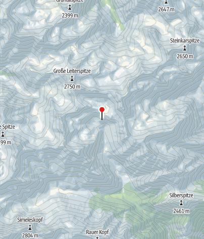Map / Württemberger Haus