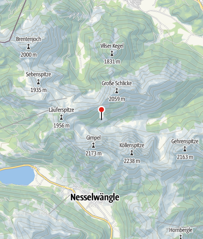 Karte / Willi-Merkl-Gedächtnis-Hütte