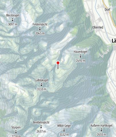 Karte / Hauerseehütte