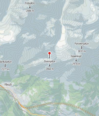 Karte / Augsburger Biwak