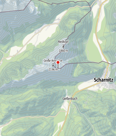 Map / Arnspitzhütte