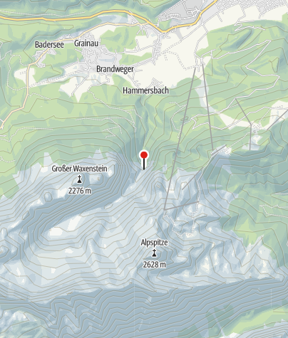 Karte / Höllentaleingangshütte