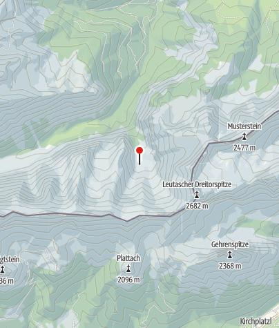 Karte / Oberreintalhütte