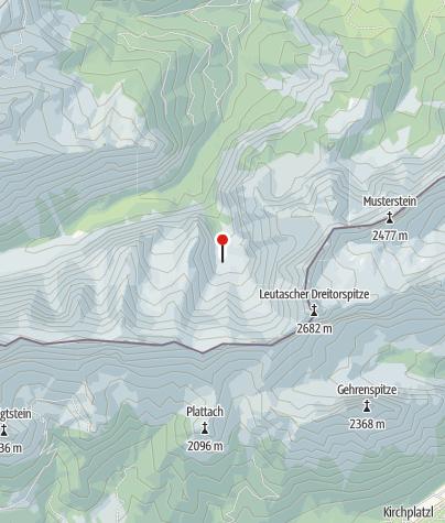 Map / Oberreintalhütte