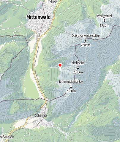 Mapa / Brunnsteinhütte