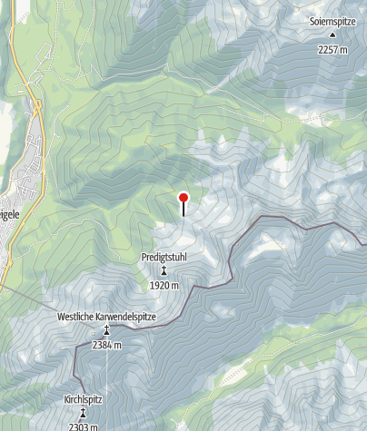 Map / Hochlandhütte