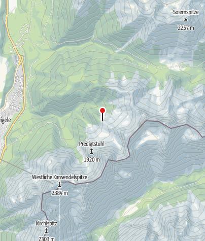 Karte / Hochlandhütte