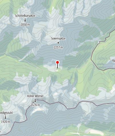 Karte / Krinner-Kofler-Hütte