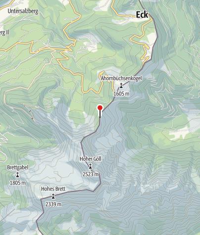 Karte / Purtschellerhaus