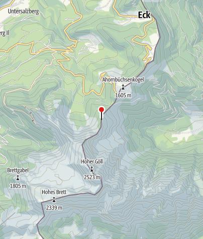 Map / Purtschellerhaus