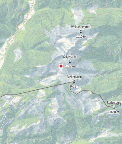 Karte / Priener Hütte