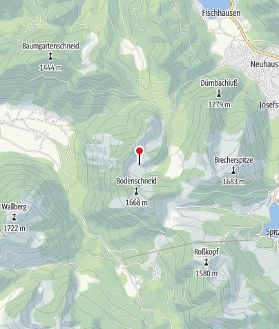 Karte / Bodenschneidhaus