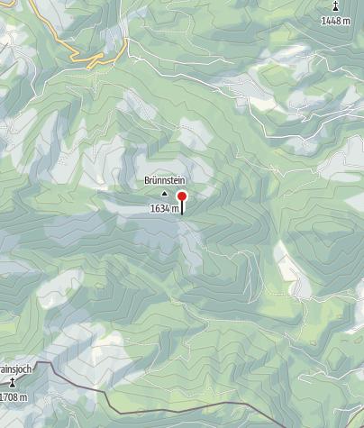 Karte / Brünnsteinhaus