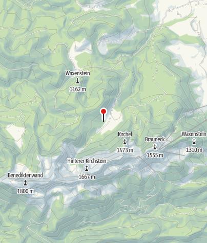 Karte / Freisinger Hütte (Längental)