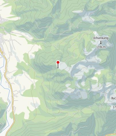 Karte / Lenggrieser Hütte