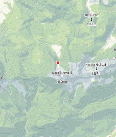 Karte / Tutzinger Hütte