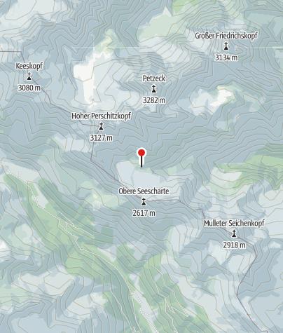 Karte / Wangenitzseehütte