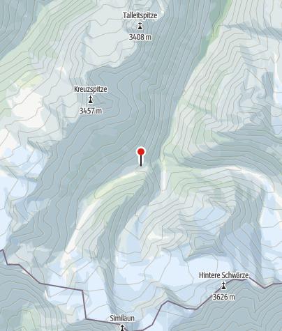 Map / Martin-Busch-Hütte
