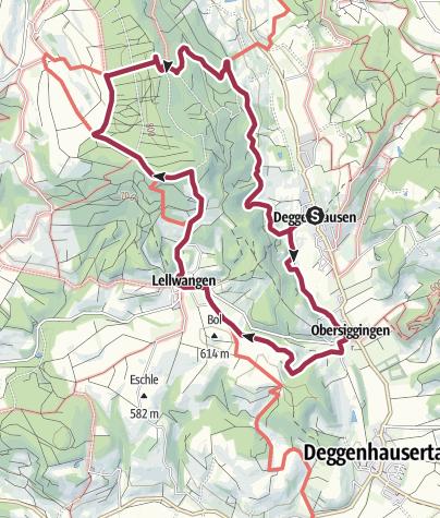 Karte / Deggenhausen - Bettelküche - Deggenhausen