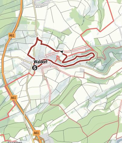 Map / Brombeerweg Waldorf