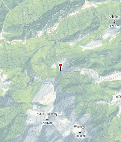 Karte / Edelweisshütte/Schneeberg