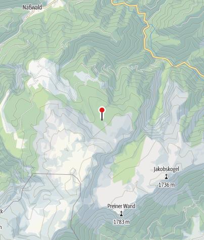 Karte / Gloggnitzer Hütte
