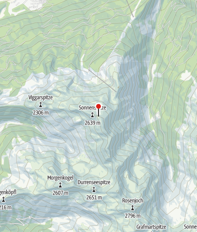 Karte / Glungezerhütte